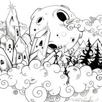 Mist Glider x Heart Tricks Krystal Kingdom Artwork