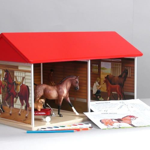 Как сделать игрушечных лошадей 119
