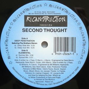 Second Thought - Deep Penetration (Deep Dub Mix) by GlitzNoize on ...