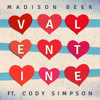 Valentine ft. Cody Simpson album artwork