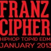 Franz Cipher - DJ MIX HipHop Top40 EDM JAN 13