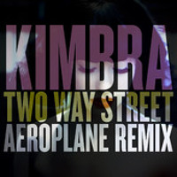 Kimbra Two Way Street (Aeroplane Remix) Artwork