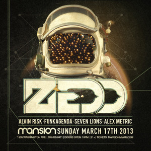 Funkagenda Live @ Zedd + Friends - Mansion Nightclub - Miami 031713