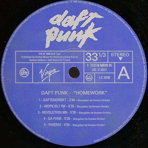 Daft punk homework flac rar