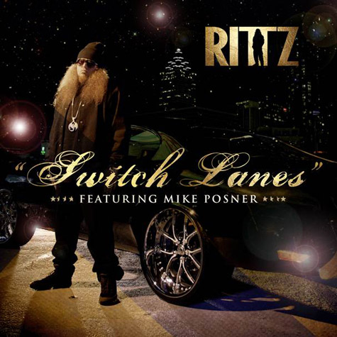 Audio: Rittz ft. Mike Posner   Switch Lanes