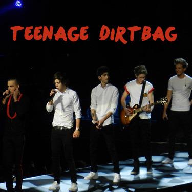 one direction song lyricsOne Direction Teenage Dirtbag Edit