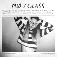 MØ Glass Artwork