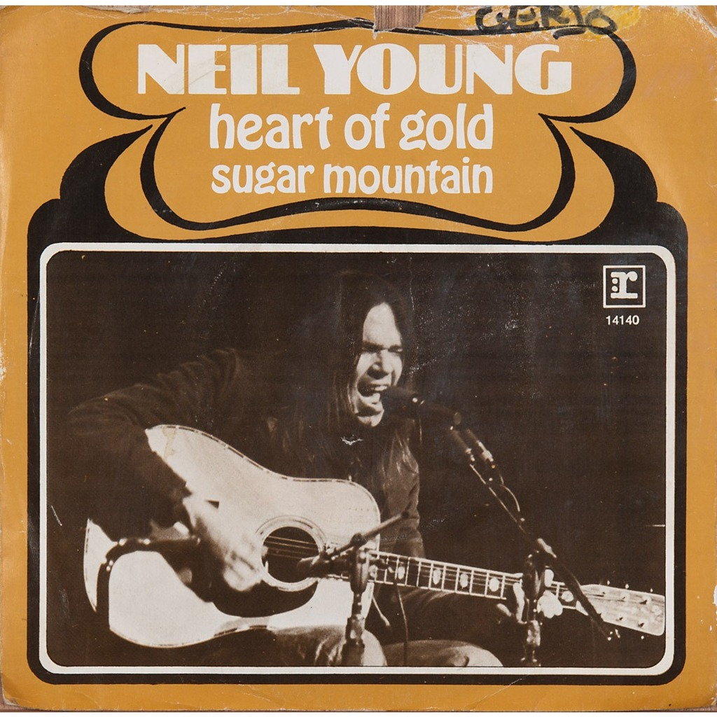 Heart Of Gold by Neil Young | Song Lyrics, Album, Awards