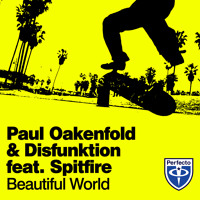Listen to a new electro song Beautiful World (Original Mix) - Paul Oakenfold and Disfunktion (ft. Spitfire)