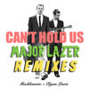 MACKLEMORE & RYAN LEWIS vs MAJOR LAZER - can't hold us remix (ft swappi and 1st klase) album artwork