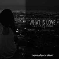 Haddaway What Is Love (Jaymes Young Cover) Artwork