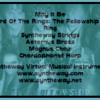 May It Be (The Lord Of The Rings, The Fellowship Of The Ring) Syntheway Strings, Brass, Choir, Harp