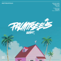 Flatbush Zombies Palm Trees Artwork