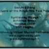 Gollum's Song (The Lord of the Rings: The Two Towers) Syntheway Strings, Brass, Magnus Choir VST