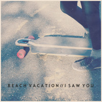 Beach Vacation I Saw You Artwork