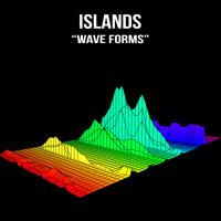 Islands Wave Forms Artwork