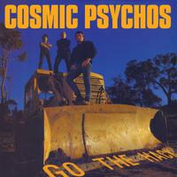 Cosmic Psychos Go The Hack Artwork