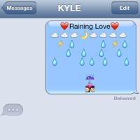 KYLE Raining Love Artwork