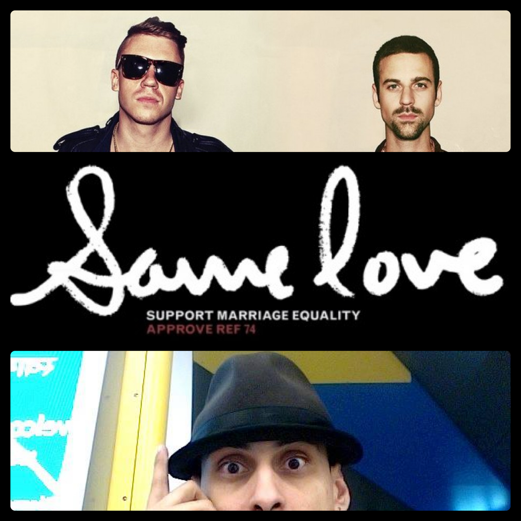 deconstruction of same love macklemore Song analysis same love - macklemore macklemore was driven by the issue of marriage equality and the use of 'gay' as a derogative term in the hip-hop industry, and society he wanted to make an impact on his fellow musicians, rappers and hip-hop artists and express his concerns for the use of words such as 'faggot' and 'that's gay.