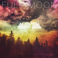 Mansions on the Moon Full Moon Artwork