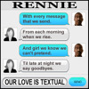 OUR LOVE IS TEXTUAL (Clip)