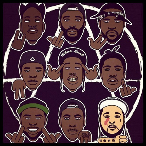 Asap mob worldwide logo