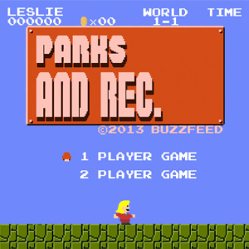 Parks & Rec - Video Game Edition by MattLewisMedia