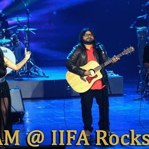 Pritam ft. Arijit Singh, Aditi Singh Sharma, Raghav Sachar and Benny Dayal at IIFA Rocks 2013