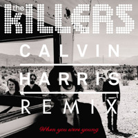 The Killers When You Were Young (Calvin Harris Remix) Artwork
