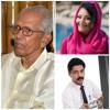 Mr.Professor M K Sanu interacting with Shalu Faizal and Venu Parameshwar in Hello Shalu !!!