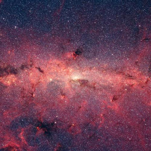 Млечный путь, звезды, огонь, космос, астрономия Обои 2560x1440 Desktop wallpaper for apple iMac 27'' HD...