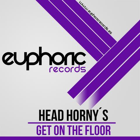 (EUPDI 066) HEAD HORNY´S - GET ON THE FLOOR Artworks-000063087065-enx3py-original