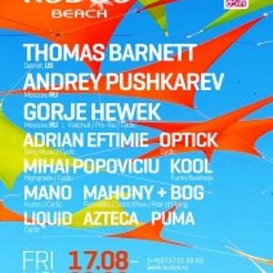 Andrey Pushkarev live Set @ Kudos Beach Club 19.08.2012