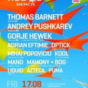 Adrian Eftimie live set @ Kudos Beach Club 19.08.2012