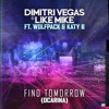 Dimitri Vegas & Like Mike ft Wolfpack & Katy B - Find Tomorrow ( Ocarina ) OUT SOON ON ITUNES album artwork