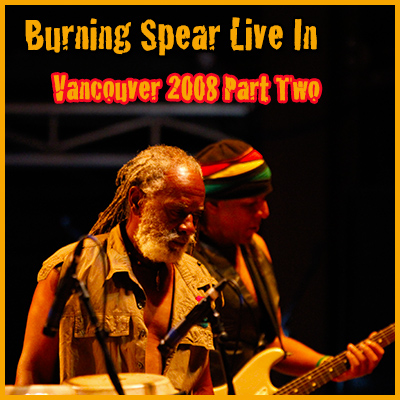 Burning Spear Live