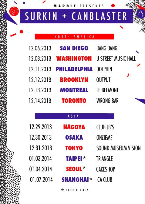 2013.12.02 - SURKIN & CANBLASTER - WINTER TOUR MIX Artworks-000064232584-kt6mh9-original