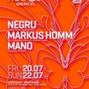 Markus Homm live set @ Kudos Beach 22.07.2012 part 1