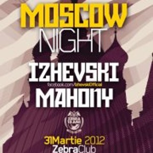 Izhevski live set @ Club Zebra @ Moscow Night