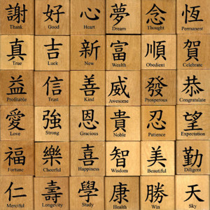 Chinese calligraphy symbols and meanings