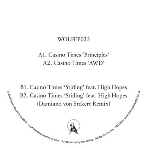 Stirling feat. High Hopes (WOLFEP023) by Casino Times