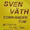 SVEN VATH @ OZ (Stuttgart):13-07-1994