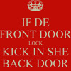 Onyan & Burning Flames - Kick Een She Back Door (Davin Refix)