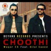 """Choothi"" Waqar Ex feat. Bilal Saeed album artwork"