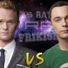 Barney Stinson VS Sheldon Cooper. Épicas Batallas De Rap Del Frikismo