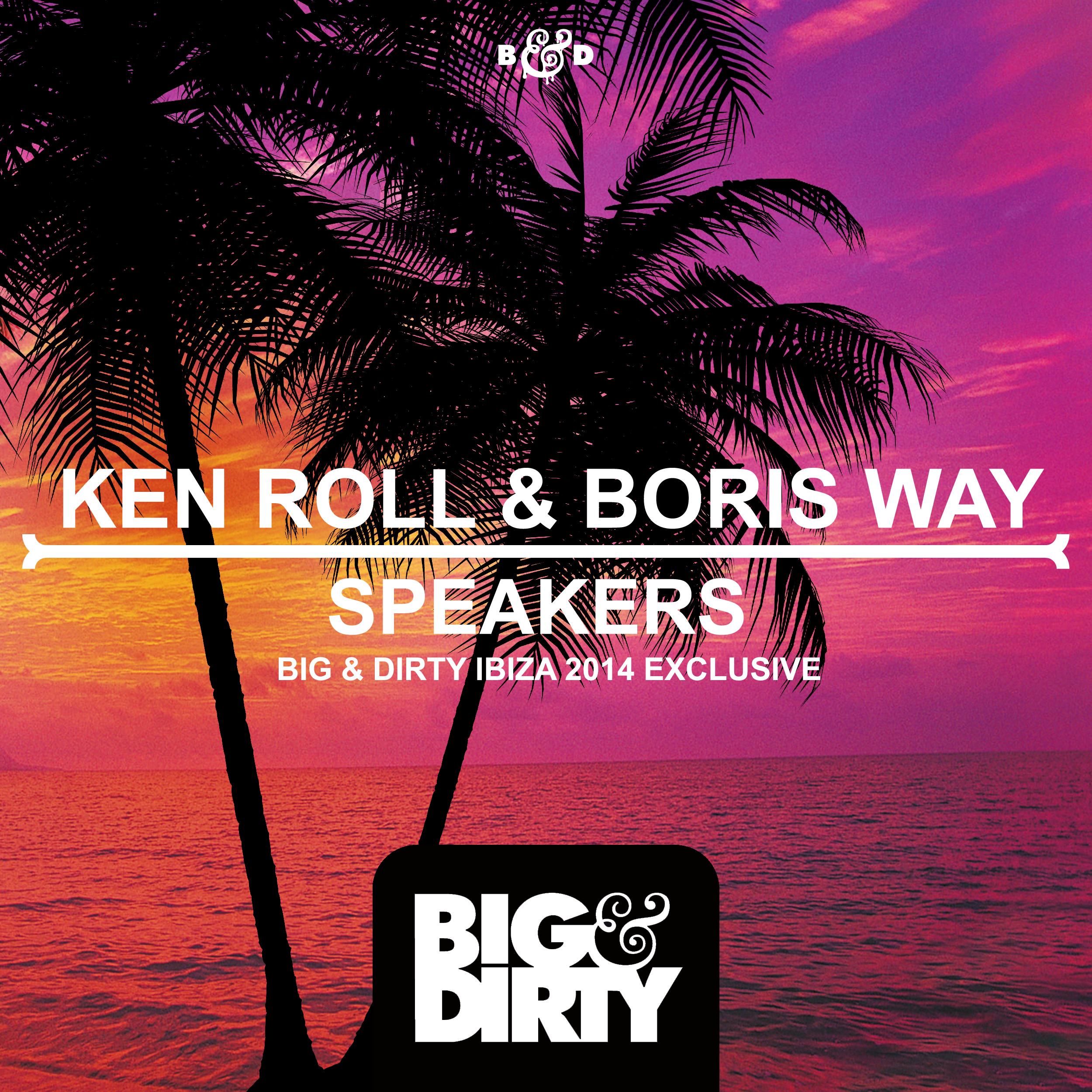 Ken Roll & Boris Way - Speakers (Original Mix)