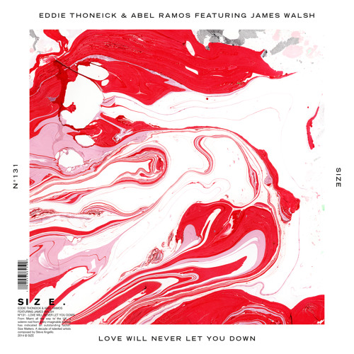 Eddie Thoneick & Abel Ramos feat. James Walsh – Love Will Never Let You Down  (Original Mix)