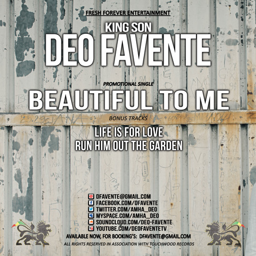 Deo Favente - Life Is For Love
