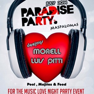 Dj Morell & Luis Pitti @ Paradise Party 2014 (Las Palmas) Free download !!