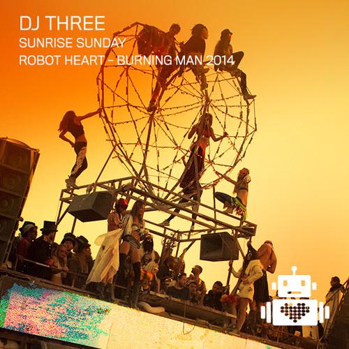 DJ Three - Robot Heart - Burning Man 2014 by Robot Heart